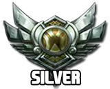 LOL Account  Silver IV | 145 Champions | 199 Skins | Amazing Skin Collection | Season 8 Bronze