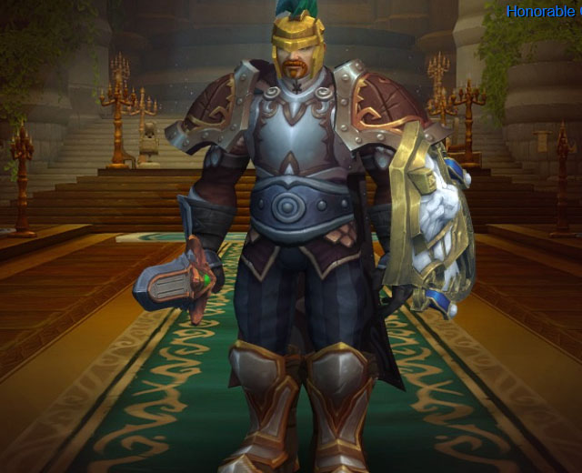 WoW Account  120 Human Prot Paladin | 115k HP Unbuffed | Mottled Meadowstomper