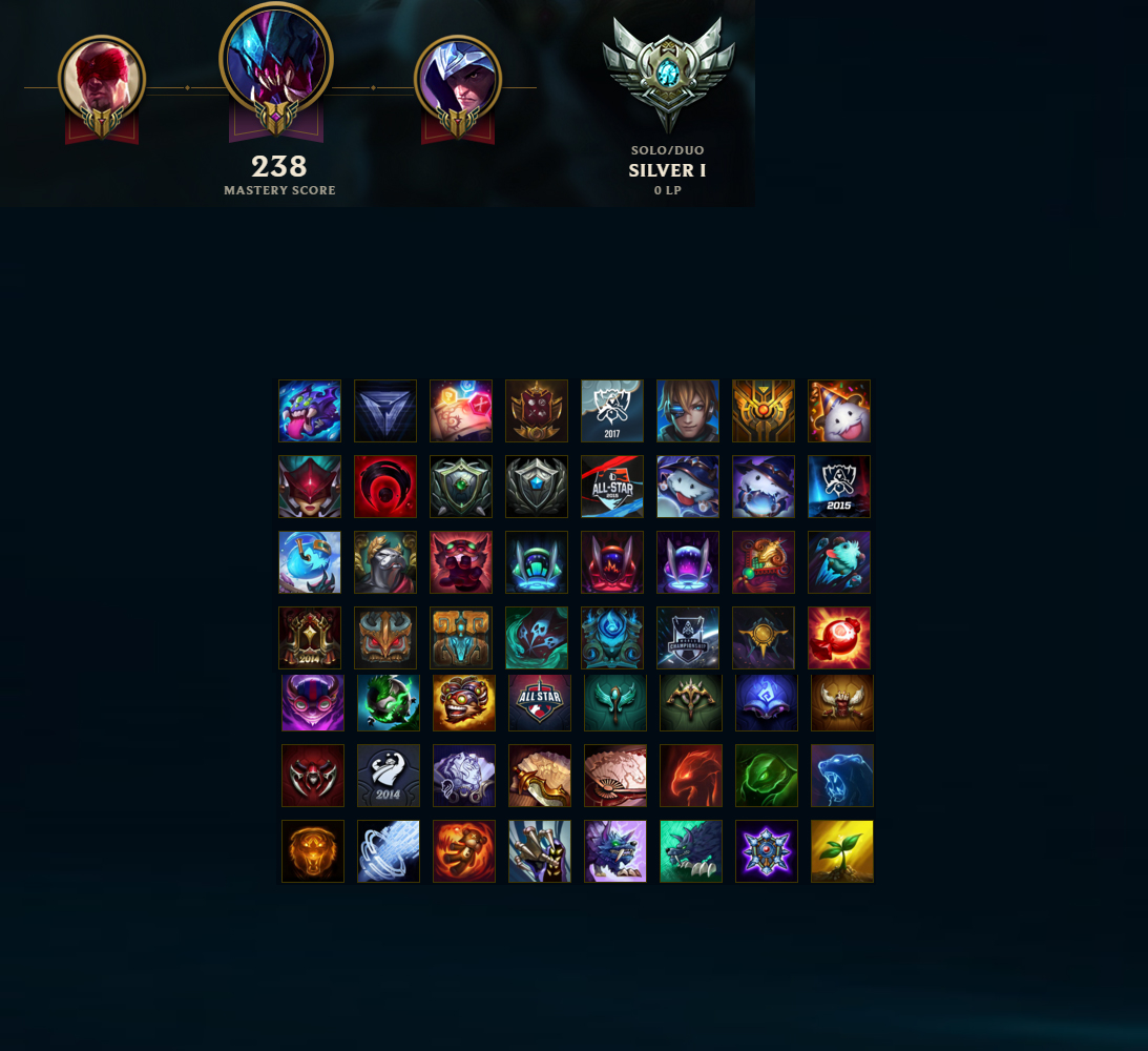 League Of Legends Account For Sale Unranked 139 Champions 659